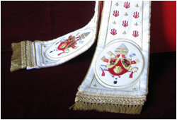 Embroideries of The Tiara Made by Liturgix